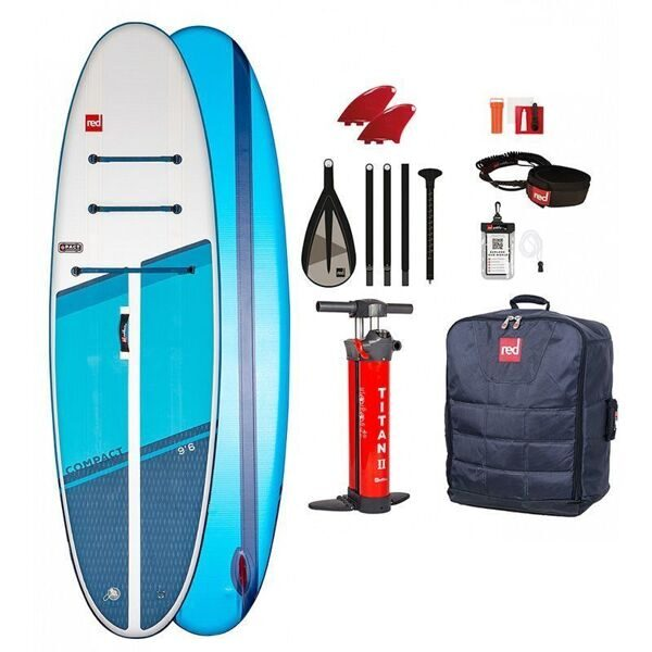 "Red Paddle 9'6"" Compact Package 2021 сапборд для прогулок"